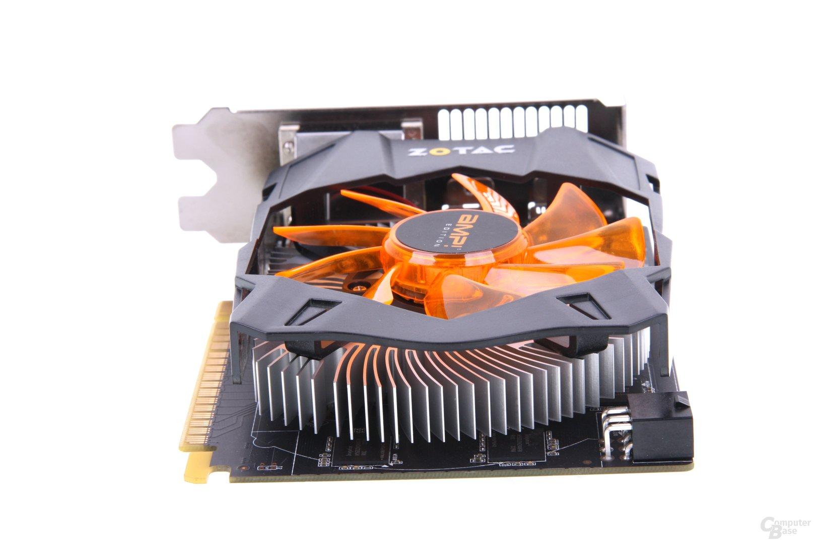 GeForce GTX 650 Ti AMP! von hinten