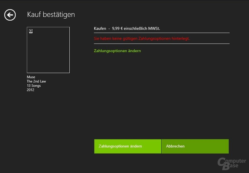 Kauf im Microsoft-Marktplatz