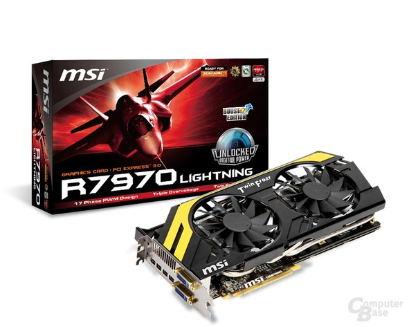 MSI Radeon HD 7970 Lightning BE