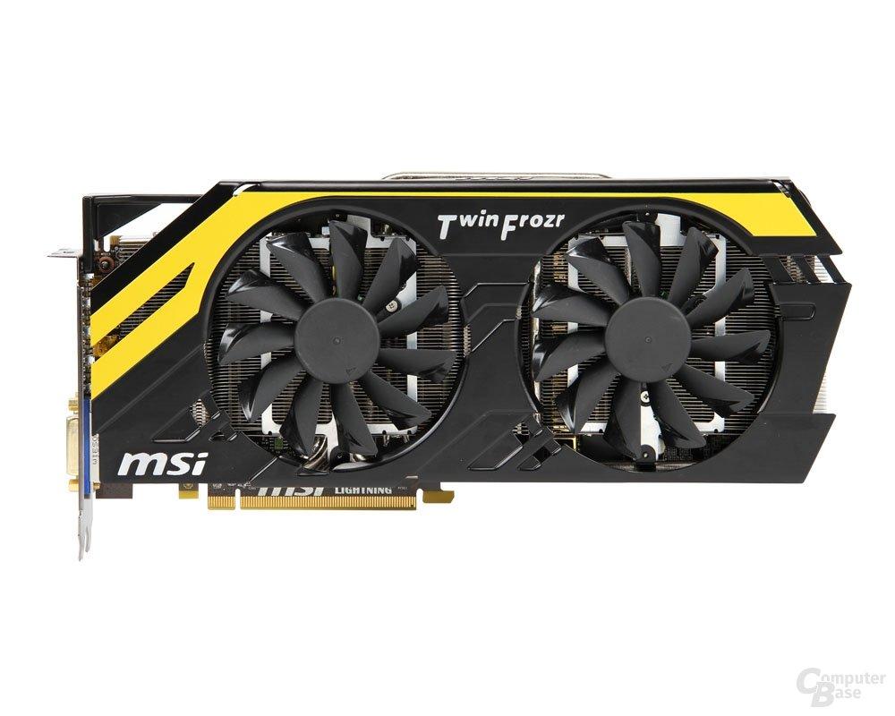 MSI Radeon HD 7970 Lightning BE