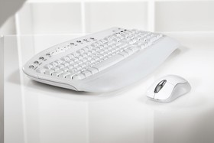 Microsoft Wireless Desktop Optical Ice