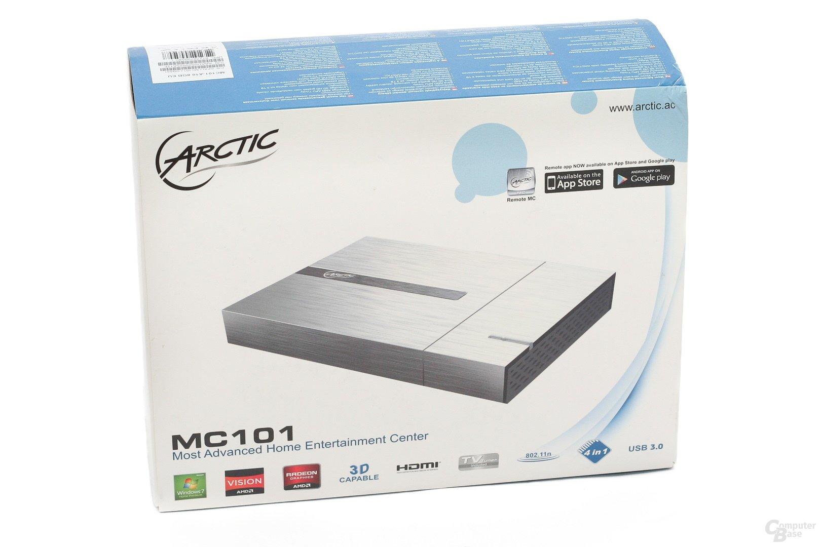 Arctic MC101 – Verpackung