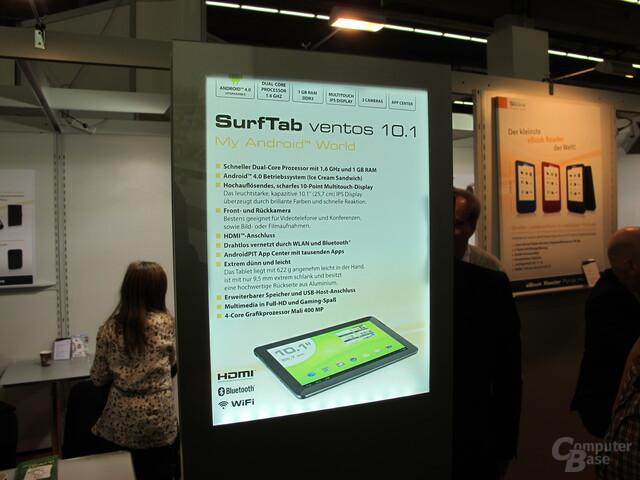 SurfTab ventos 10.1