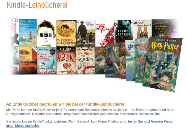 Kindle-Leihbücherei