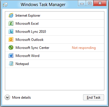 Task-Manager: Windows 8 und Windows 7 im Vergleich