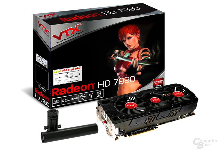 VTX3D Radeon HD 7990