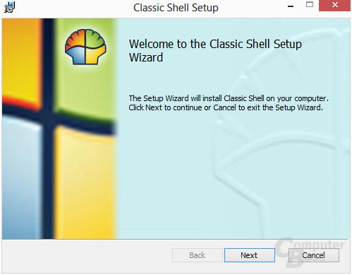 Classic Shell – Installation