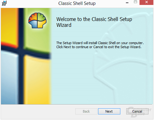 Classic Shell – Installation