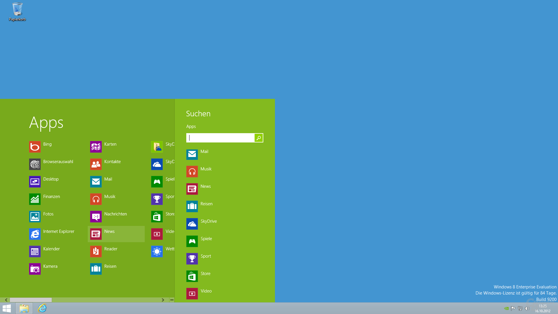 Mischung aus Windows 7 mit Modern UI