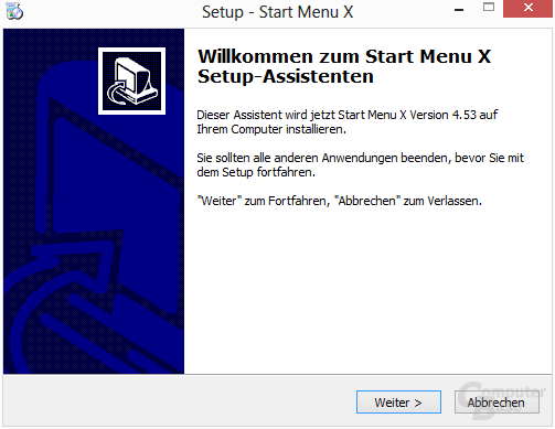 Start Button 8 – Installation