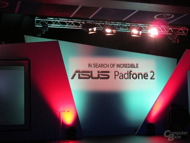 Präsentation des Asus Padfone 2