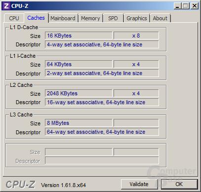 AMD FX-8350 - Cache