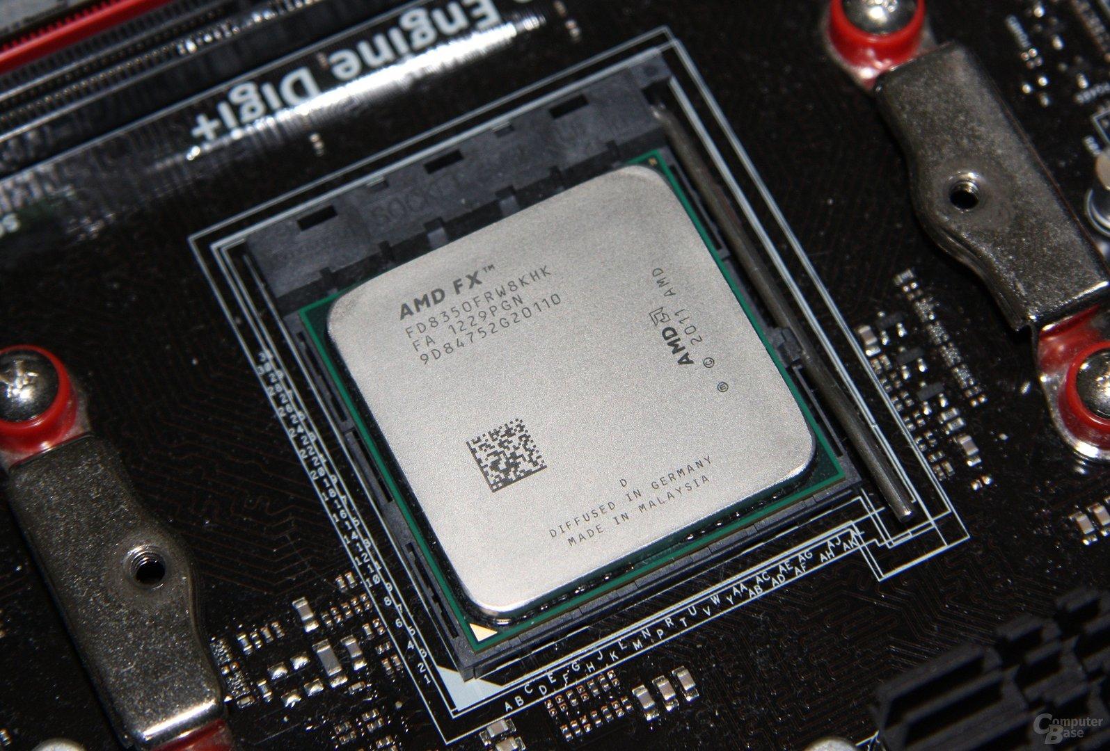 AMD FX-8350 auf Asus Crosshair V Formula