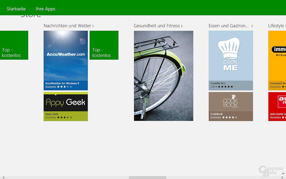 Windows 8: App-Store