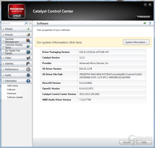AMD Catalyst 12.11