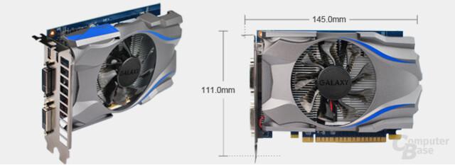 Galaxy GeForce GTX 650 Green Edition