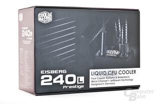 Coolermaster Eisberg Prestige 240 L Verpackung
