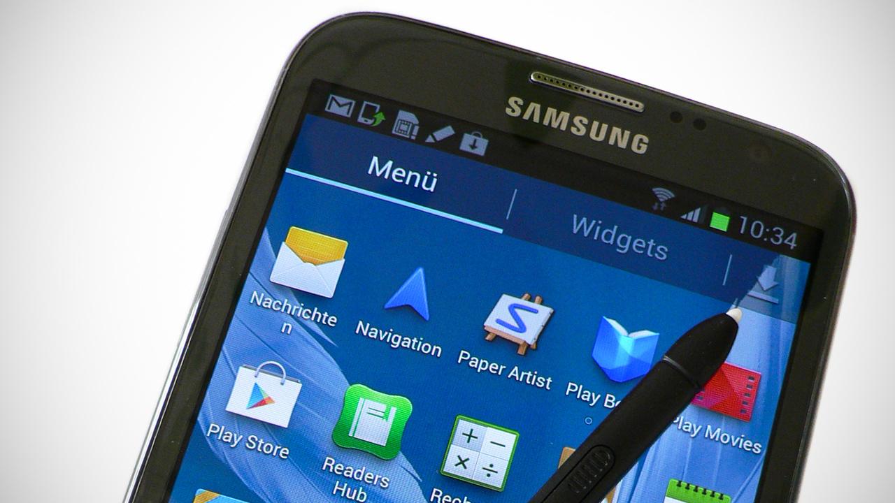 Samsung Galaxy Note II im Test: Neuauflage des 5-Zoll-Revolutionärs
