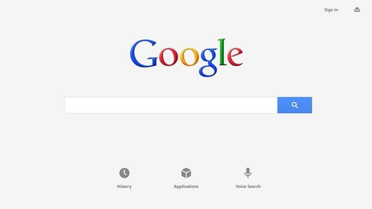 Googles neue App für Windows 8
