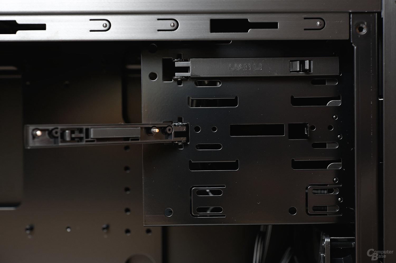 "Lian Li PC-7HX – 5,25""-Verschlusssystem"
