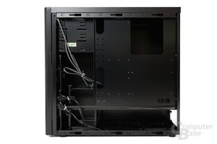 Lian Li PC-7HX – Innenraumansicht Rückseite