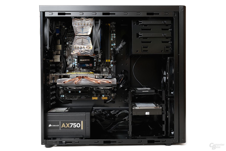 Lian Li PC-7HX – Testsystem