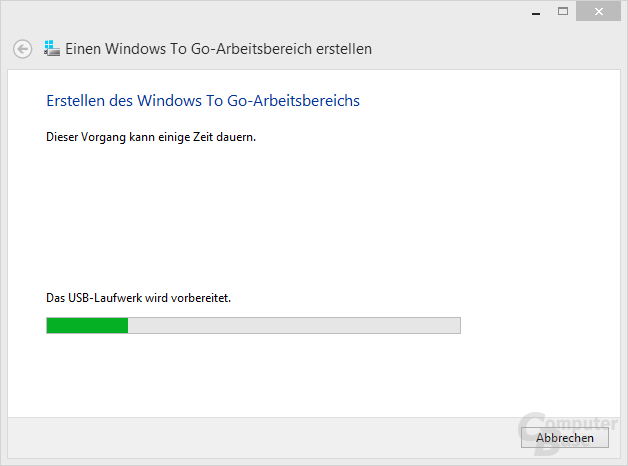 Windows 8: Windows To Go