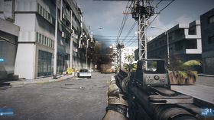 Battlefield 3 - SSAA ohne LOD-Korrektur