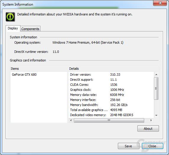 GeForce 310.33