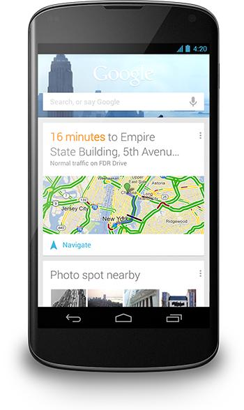 Neue Google-Now-Funktionen