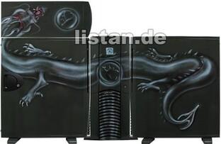 MagicArt Airbrush Case Black-Dragon