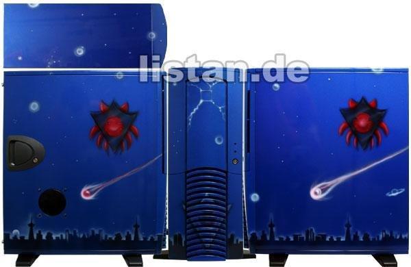 MagicArt Airbrush Case Blue-NightSky