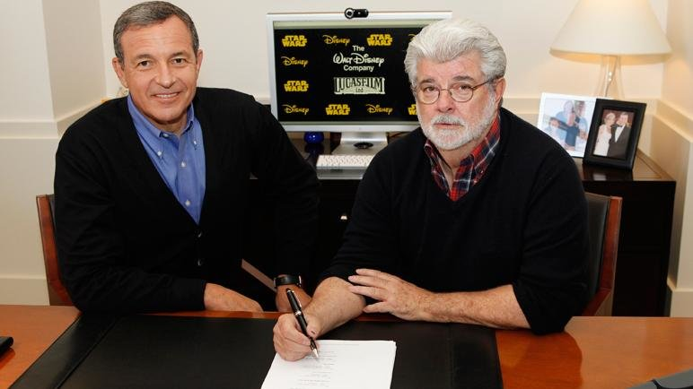 Bob Iger und George Lucas