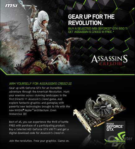 MSI Assassin's Creed 3