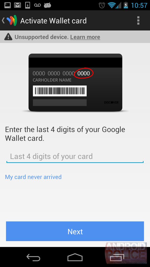 Neue Google-Wallet-App