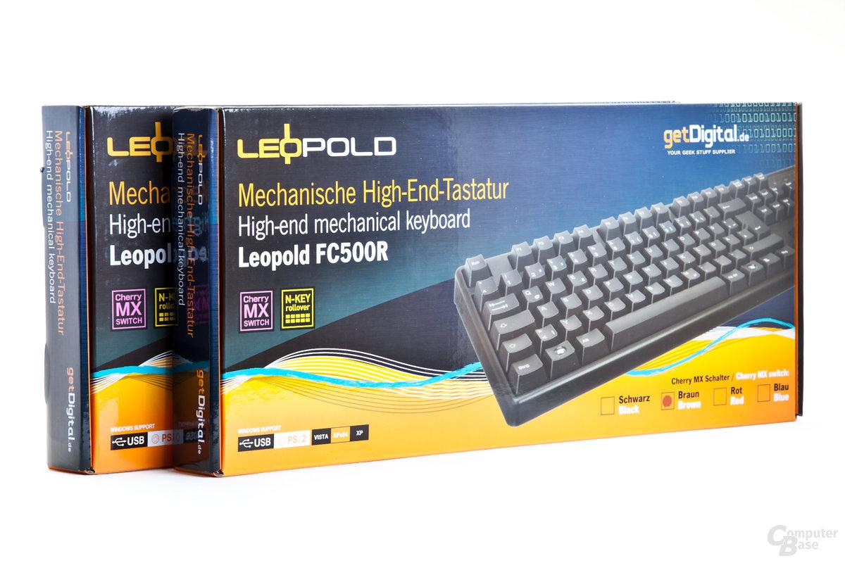 Retailverpackungen der FC500R