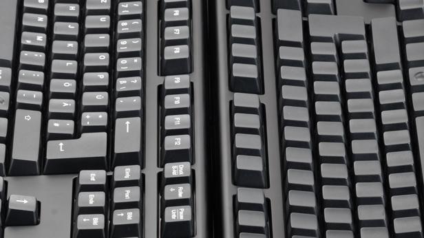 Leopold FC500R im Test: Tastatur ohne Beschriftung