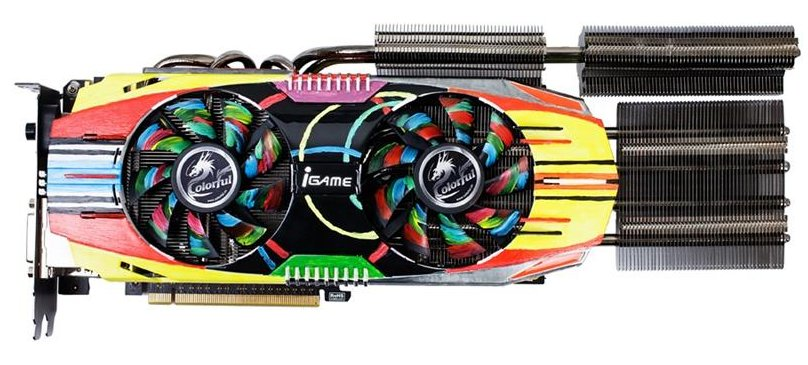 Colorful GeForce GTX 660 Ti World Cyber Games Edition