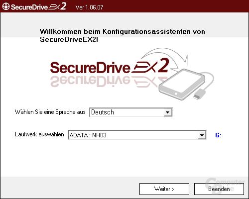 SecureDriveEX2