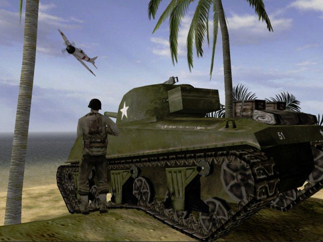 Screenshot aus Battlefield 1942
