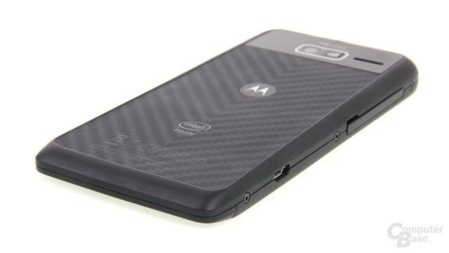 Motorola RAZR i Rückseite