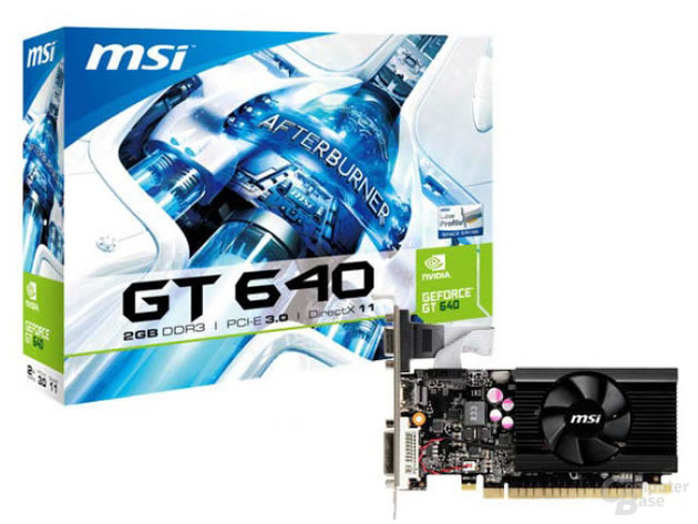 MSI GeForce GT 640 Low Profile