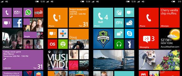 WP 8 – Neuer Startscreen