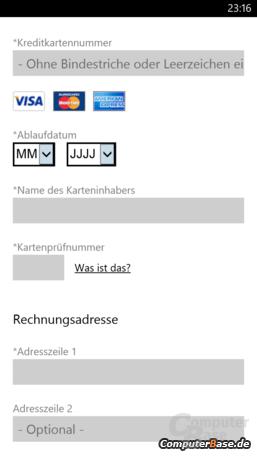WP 8 – Wallet