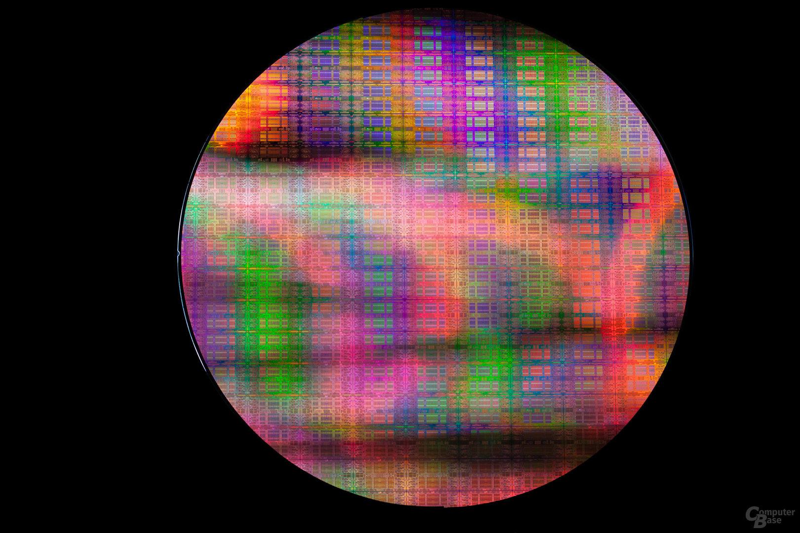 Intel Itanium 9500 auf Wafer