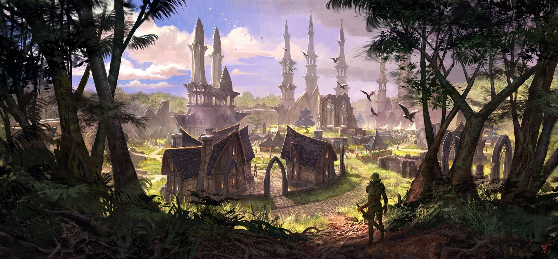 Altmer Town Concept