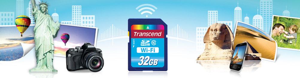 Transcend Wi-Fi-SD-Karte