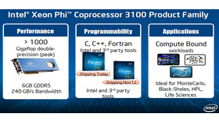 Intel Xeon Phi 3100