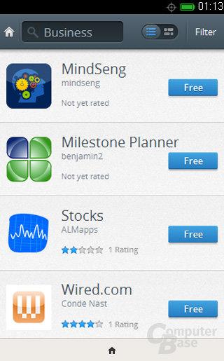 Firefox OS Store