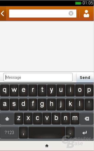 Firefox OS SMS